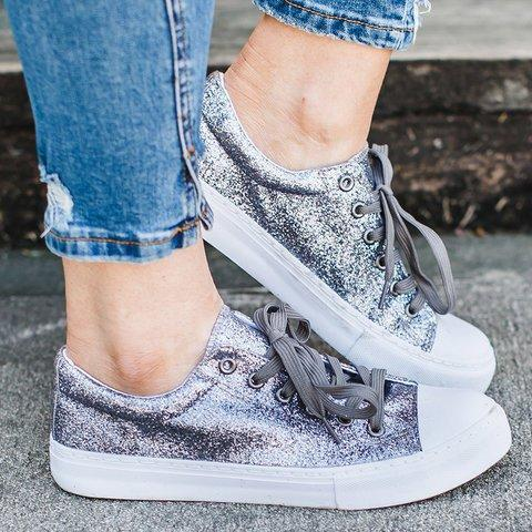 Artificial Leather Flat Heel Hiking All Season Sneakers