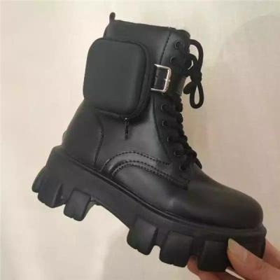Women's Belt Buckle Rivet  Ankle Bootie