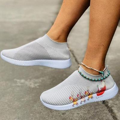 Flat Heel Sneakers