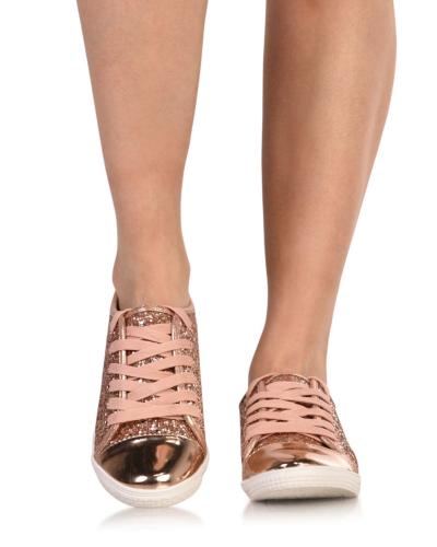 Shinin' All The Time Glitter Sneakers
