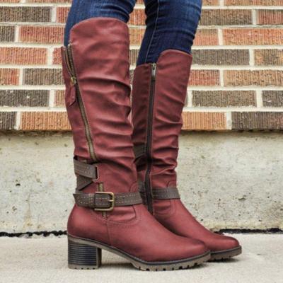 Women's Comfortable Knee High Boots