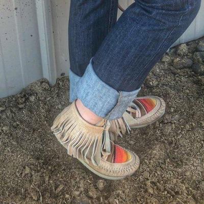 Spring Flat Heel Boots