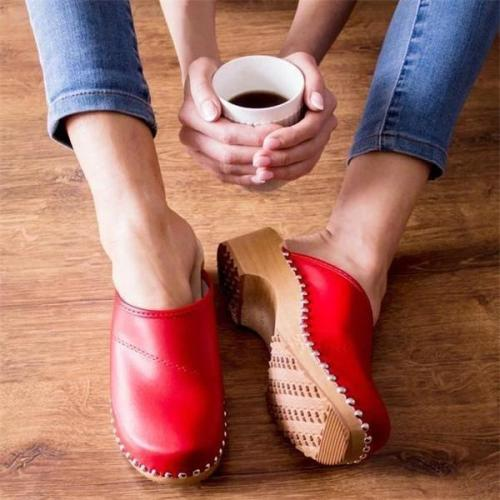 Women Swedish clogs Sandals
