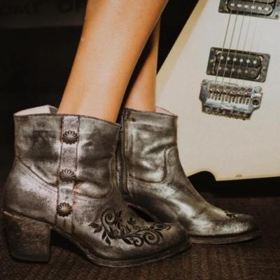 Block Heel Holiday Boots