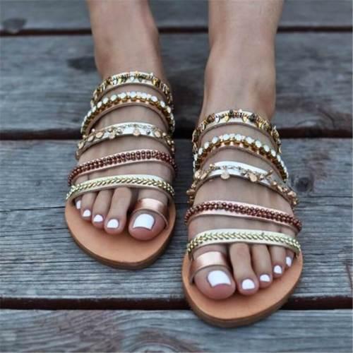 Fashion Vintage Bohemian Flat Slippers