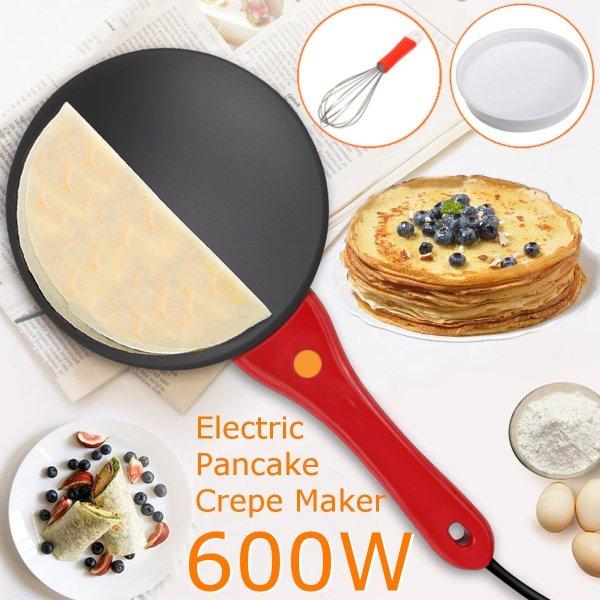 Electric Griddle Pancake Maker Pan Pizza Cake Non-Stick Machine