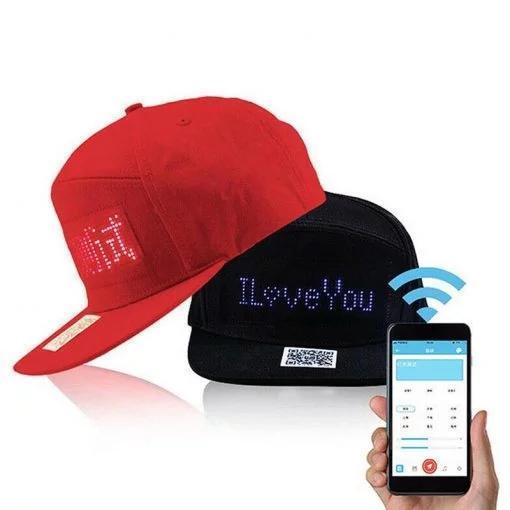 LED Message DIY Hat