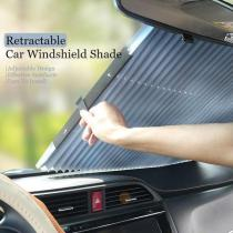 Car Retractable Windshield Cover - fit any size car