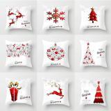 Christmas Series Pillow case Car Sofa Hug Pillowcase for Home Decorations