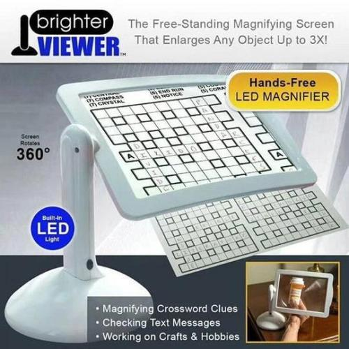 Brighter Viewer - LED Magnifier