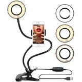 Studio Led Light With Cell Phone Holder
