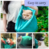 Outdoor Solid Cat Carrier Pouch-Made from a rip resistant canvas,breathable and durable material