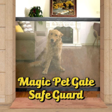 Magic Pet Gate Safe Guard-can withstand abuse from pets