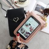 Touchable PU Leather Mobile Phone Bag