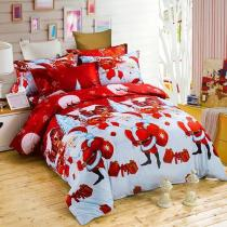 Soft Polyester Cotton  Pillow Case Bedding Sets