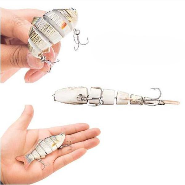 Simulation fishing lure fishing tool-Use high quality fishing hooks to penetrate quickly