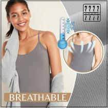 In-Bra Breathable Cami Top - Theadjustablestraps fit for different body shapes