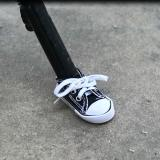 Motorcycle bicycle foot support small shoes-can adjust the size of the shoe mouth