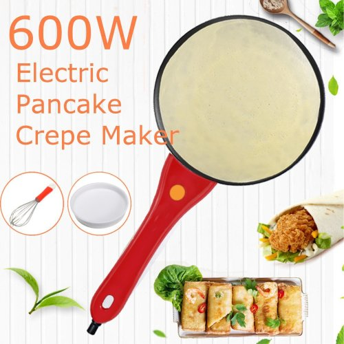 Electric Griddle Pancake Maker Pan Pizza Cake Non-Stick Machine