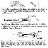 DIY Patchwork Tools - Fits in the majority of sewing machines