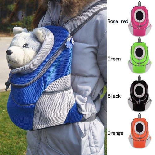 Pet Backpack Dog Bags Dog Carrier Pet Dog Front Bag Puppy Dog Portable Travel Bag Mesh Backpack