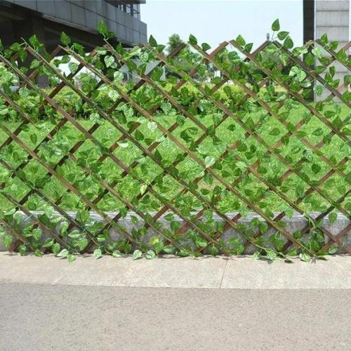 Artificial Garden Plant Fence - It won't fade