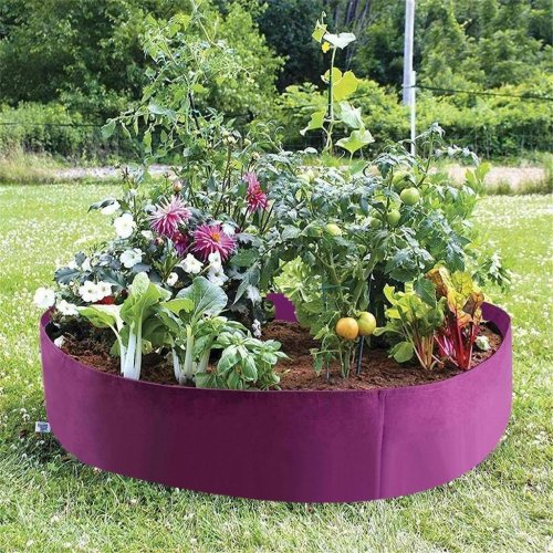 Fabric Raised Bed Planter Bag