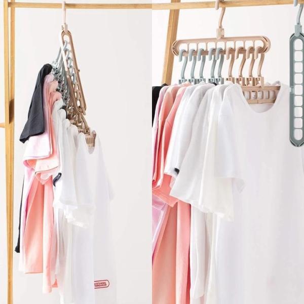 Clothes Hangers Space Save Closet Organize