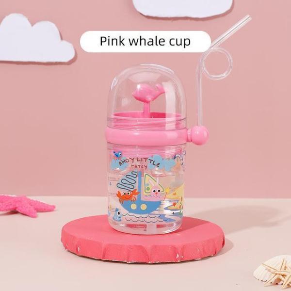 Whale Spray Water Bottle