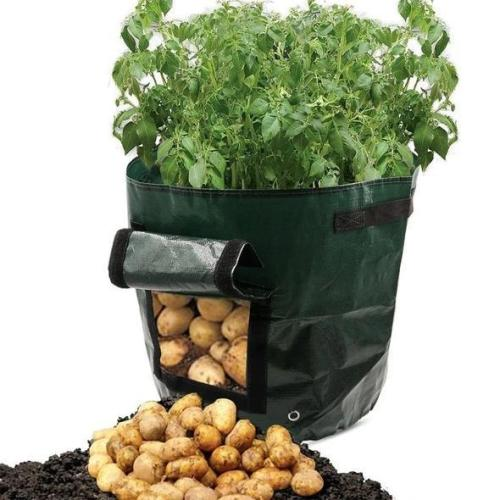 Potato Grow PE Container Bag Pouch Tomato Vegatables Garden Outdoor
