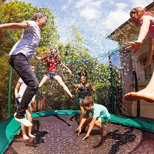 Trampoline Water Sprinkler - Soft without Sharp Parts