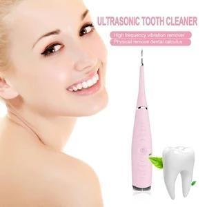 Ultrasonic Personal Dentist - effectively smash the stubborn calculus, reduce the damages to the enamel and gum
