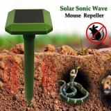 Garden Tools GreatHouse Solar Power Sonic Wave Mouse Snake Repeller Outdoor Garden Animal Expeller