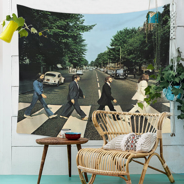 The Beatles City Wall Tapestry