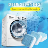 Washing Machine Tub Bomb Cleaner-remove 99% bacteria, dirt and odor-causing residuals