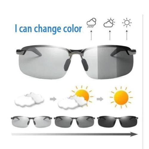 Photochromic Sunglasses with Polarized Lens - Enhance the Visual Sharpness and Perfect for Fisherman