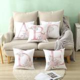 Pink Letter Cushion Pillowcase Home Decoration Pillowcase