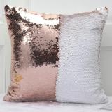 Pillow Case Super Soft Cushions With Glitter Mermaid Magical Reversible Color Patchwork Glitter Cushion Cases Dual-Side Sequins Pillowcase