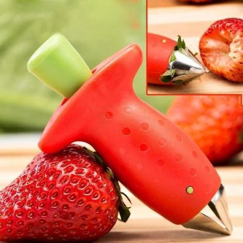 Fruit stem remover