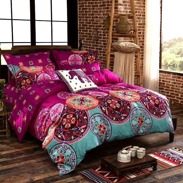 Oriental Mandala Polyester Bedding Set