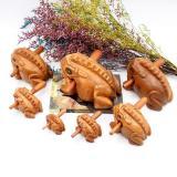 Wood Frog Guiro Rasp Percussion