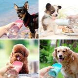 Portable Pet Water Bottle Bowl For Dog Cat
