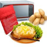 Potato Express Microwave Oven Baked Potato Bag