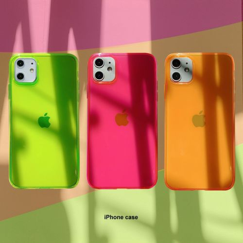 Neon Clear Cases
