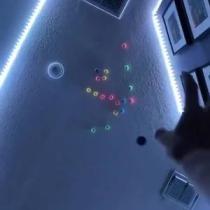 Fluorescent Sticky Target Balls