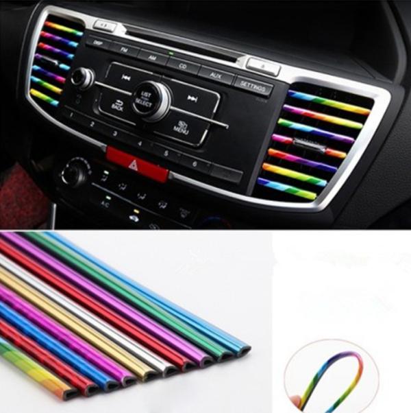 Car Vent Decorative Strip (10PCS)