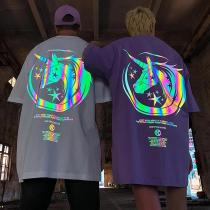 Reflective unicorn T-shirt
