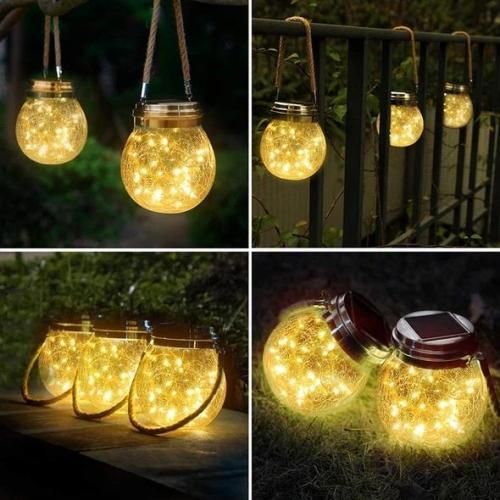 Solar Crack Lamp