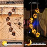 🎃Hot Sales🎃--Solar Pumpkin/Skull/Ghost Wind Chime Light