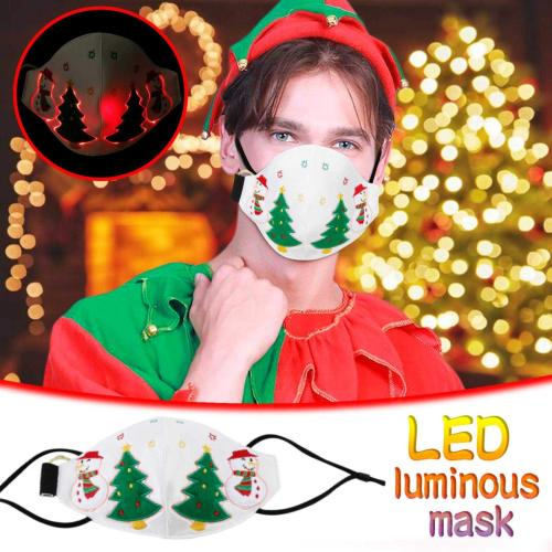 🎄2020 New Christmas LED Light Up Luminous Mask🎄